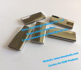 Vente en gros (2 pcs) X089D256H01 edm MV Power Feed Contact M012 (acier tungstène) Supérieur Inférieur X089-D25-6H01 pour X089D256H02 Mitsubishi DWC-MV1200 MV2400