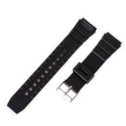 $enCountryForm.capitalKeyWord UK - 12-22mm Silicone Rubber Diving Strap Replacement Sport Wrist Watch Band Strap Deployant Clasp Buckle Leather