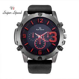 Speed S NZ - SUPER SPEED wonderful design Watch man men`s watch 2018 quartz geneve cool Waterproof Watches Clock kol saati relogio masculino