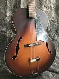 New body acoustic guitars online shopping - New Brand Starshine Archtop Jazz electric guitar acoustic guitar full hollow body electric guitar