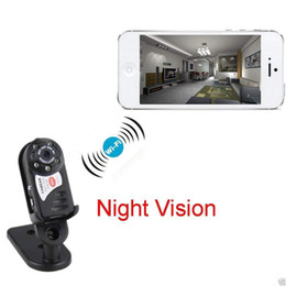 Discount vision offices - 32GB Memory WiFi Mini Surveillance Camera, P2P HD Portable IP Camera with Night Vision for Garage,Office,Garden and Home