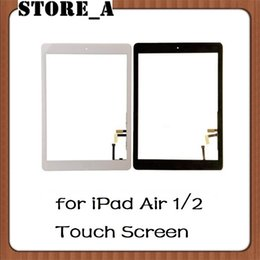 StickerS for ipad air online shopping - For iPad Air For iPad Touch Screen Glass Digitizer Assembly with Home Button Adhesive Glue Sticker Replacement Store_A