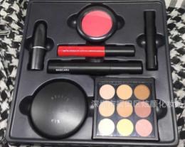 mascara set boxes 2019 - Drop Ship makeup set LOOK IN A BOX 7in1 Full set Fix powder eyeshadow mascara blush lipstick eyeliner lip gloss high qua