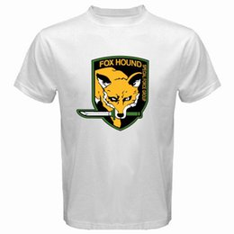 $enCountryForm.capitalKeyWord Canada - Metal Gear Solid Fox Hound Special Forces Group Mens White T-Shirt Size S to 3XL