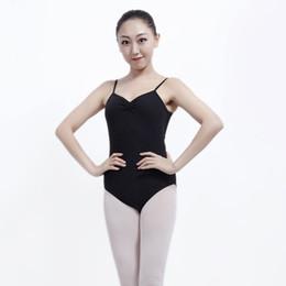 3c56a792a7df Top Sell Ballet Gymnastics Leotards for Girls Adult Backless Ballet Leotards  5 Color Lycra Spandex Camisole Ballerina Bodysuit