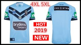 Chinese  big size 5xl Welsh holden nswrl 2019 NRL National Rugby League Nsw origins Rugby jersey 18 19 NSWRL Holton Jerseys shirt Size S-5xL manufacturers