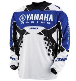 b27b4c39b Motocross della maglietta online-2018 New Tops T-shirt YAMAHA Motocross  Downhill traspirante T