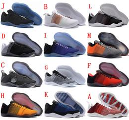 High Quality Black Mamba 11 Elite Men Basketball Shoes Kobe 11 Red Horse  Oreo Sneakers KB 11 Sports Sneakers 6e2567ce2