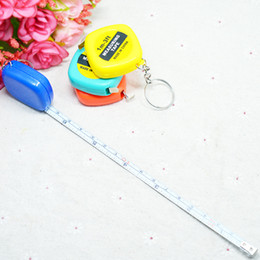 movie steel Canada - 1 meters long mini portable key chain, small tape, small steel plastic ruler.