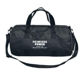 $enCountryForm.capitalKeyWord NZ - Nylon Waterproof Barrel Independent Shoe Position Casual Handbags Black Luggage Weekend Men Travel Bags T565