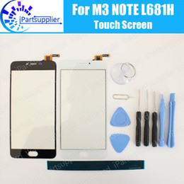 $enCountryForm.capitalKeyWord NZ - For Meizu M3 Note touch screen Panel 100% Original glass panel Assembly Replacement for Meizu M3 Note L681H cell phone+Tools