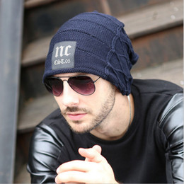 2018 Hot Newest Design!! Stylish Skullies Beanies Hat For Man Warm Winter  Hat toucas gorros Top-Quailty Drop Shipping c5388d8fd98f