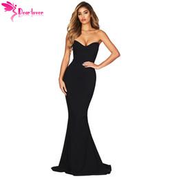 d9951705dee Discount dear lover dresses - Dear Lover Sexy Long Party Dress Black  Strapless Sweetheart Neckline Mermaid