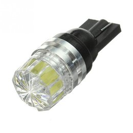 Vehicle side lights online shopping - DC V T10 W5W T15 SMD LED Pure White Car Vehicle Auto Wedge Side Tail Lights Bulbs Signal Lamp
