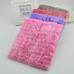 Опт 144шт искусственные мини пены розы цветы для дома свадьба декора поделки рукоделие невеста венок подарочная коробка поддельные букет цветов