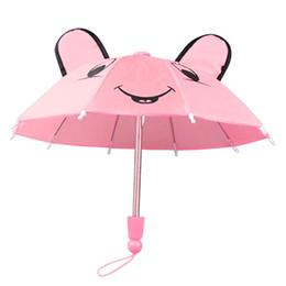 $enCountryForm.capitalKeyWord UK - Cherry Pills #3004 Umbrella Accessories for dolls 18 inch American Girl Baby Born Dolls Handmade Children best Birthday Gift
