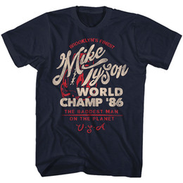 Detail gift online shopping - Details zu Mike Tyson Brooklyn s Finest World Champ Adult T Shirt Funny Unisex Casual tee gift