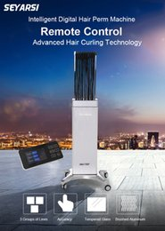 China Color Machine Canada - New Arrival Remote controlled hair perm machine, hot perm machine, digital perm machine, color silver