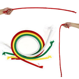 Free magic tricks online shopping - Stiff Rope Close Up Street Kids Party Show Stage Bend Tricky Magic Trick Toy Comedy Magic Props