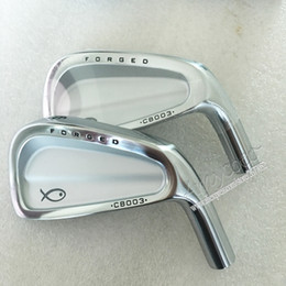 Discount forged golf clubs - New mens Golf head CB003 Forged Golf irons head set 3-9P Clubs no shaft Free shipping