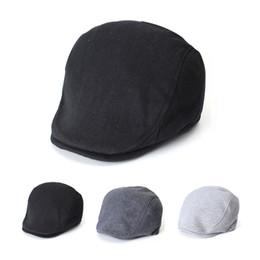 ef3343b5f1b Spring Cotton Ivy Cap Unisex Beret Hat
