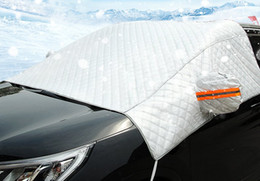Wholesale Universal Car Windshield Front Window Cover Dust Rain Snow Ice Resist Cover Truck SUV Protector Sun Shield