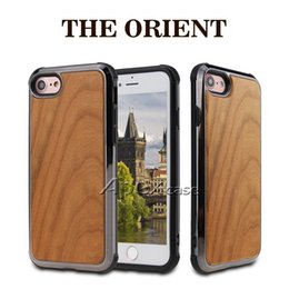 Iphone casIng desIgn online shopping - High Quality Real Wood Phone Case For iPhone X iPhone Samsung S9 Plus Nature Carved Wooden Bamboo Wood Slim Design
