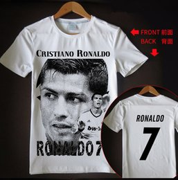f0425798f New arrival t shirt men women Cristiano Ronaldo 3D printed T-shirts casual  Harajuku style summer tops RH50