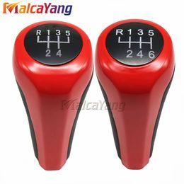 $enCountryForm.capitalKeyWord Canada - Bright and beautiful red Manual Gear Shift Knob Stick Head For BMW M3 M4 M5 X5 5 6 speed Brand New Look