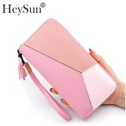 10c401e34c83 Brand Women Wallets Large Capacity Clutch Fashion PU Leather Female Purse  Zipper Wristlet Card Holders Cell Phone Bags