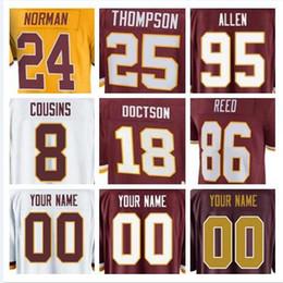 37145c825 Washington american Redskins football jerseys Kirk Cousins Sean Taylor Reed Josh  Norman salute to service custom jersey cheap women 4xl usa
