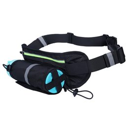 fanny pack water bottle UK - Functional Waist Pack with Water Bottle Women Men Outdoor Fanny Pack