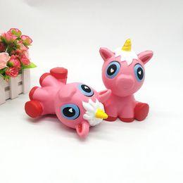 Toy red horse online shopping - Squishy unicorns CM Jumbo Slow Rising Soft horse Oversize Phone Squeeze toys Pendant Anti Stress Kid Cartoon Toys