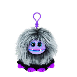 Chinese  TY Beanie Boos Purple Zwippy Plush Clip Keychain Plush Stuffed Animal Collectible Doll Toy Without Heart Tag manufacturers