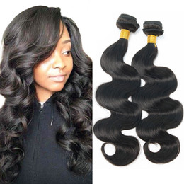 wave hair NZ - Body Wave Weave Cheap Human Hair 3 Bundles 18 20 22 Inch Unprocessed Double Wefts Brazilian Malaysian Indian Peruvian Human Hair Extensions