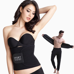 60259d10fbd Women and Men Underwear Waist Training Trimmer Belt Corsets Hot Shaper  Slimming Body Sports Waist Trainer Belt Fitness Body Shaper 171119