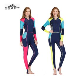 Diving Suits NZ - Sbart Women Sunscreen Rash Guard Bathing Suit Jellyfish Clothing Scuba Diving Surfing Snorkeling Swimwear Wetsuit Lycra Swimsuit