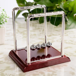 $enCountryForm.capitalKeyWord NZ - Educational Newton's Cradle Fun Steel Balance Ball Physics Science Pendulum Fun Development Kids Toys for Children Games Gifts