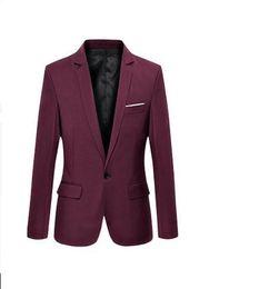 $enCountryForm.capitalKeyWord UK - S-7XL 6XL Bust 121cm) Men Nice Spring New Korean Slim Influx Of Male Adolescent Boys Small Suit Men Suit Jacket Thin Section