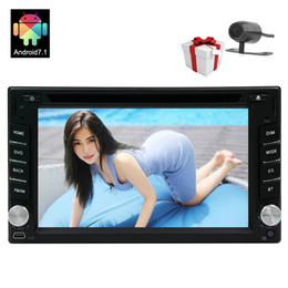 double din gps dvd bluetooth Australia - Double Din In Dash Bluetooth Car DVD Stereo Autoradio Android 7.1 System 2GB RAM Octa Core Car Stereo Radio HeadUnit GPS Steering