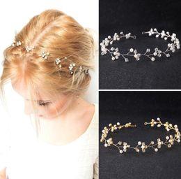 $enCountryForm.capitalKeyWord NZ - Bridal Hair pearl water drill with white gauze dress accessories head ornaments bride accessories children hair accessories