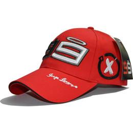 d147ed975dad3c Motogp 99 Jorge Lorenzo Hat Cotton Branded Motorcycle Racing Baseball Cap  Men Women Car Snapback Outdoor Sports Caps Hats Embroidery