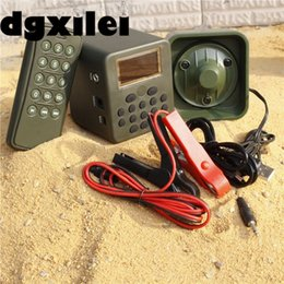 Sound Controller Australia - 50W Hunting Mp3 Bird Caller Bird Sound Loudspeaker Amplifier Hunting Bird Caller Crow Sounds With Remote Controller