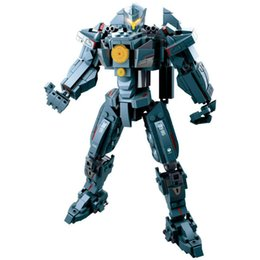 Best Block Building NZ - Best selling 0726 series Pacific Rim Thunder Rebound Mecha Model Assembly Building Blocks Toys Compatible with Wholesale