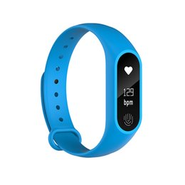 Free Wrist Bands UK - Smart Band Bracelet M2 Plus Smart watch Waterproof Heart Rate Monitor Bluetooth Wristband Anti-lost Reminder Wrist Band DHL Free
