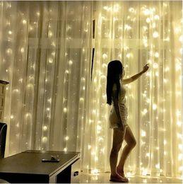 $enCountryForm.capitalKeyWord Australia - 3x3m 300LED 3x6m 600led Icicle String Lights Christmas xmas Fairy Lights Outdoor Home For Wedding Party Curtain Garden Decoration