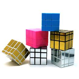 mirror puzzles 2019 - Free DHL Puzzle cube 6cm Mini Magic Mirror Cube Game Rubik Educational Game Rubik Cube Good Gift Toy Decompression toys