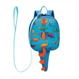 $enCountryForm.capitalKeyWord Canada - Ultra lightweight Kids Backpack with Leash 1-4 Y Cute Dinosaur Toddler Baby Safety Harness Backpack 0162