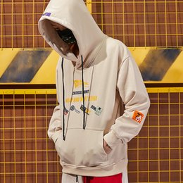 $enCountryForm.capitalKeyWord Australia - Hip-hop autumn winter country street loose hooded Hoodie men and women fashion stamps student