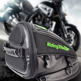 Oil Equipment NZ - Motorcycle Bag Moto Back Seat Bags Tank Oil Bag Saddle Package Crossbody Bag Motorbike Gear Motocross Cycling Racing Equipment